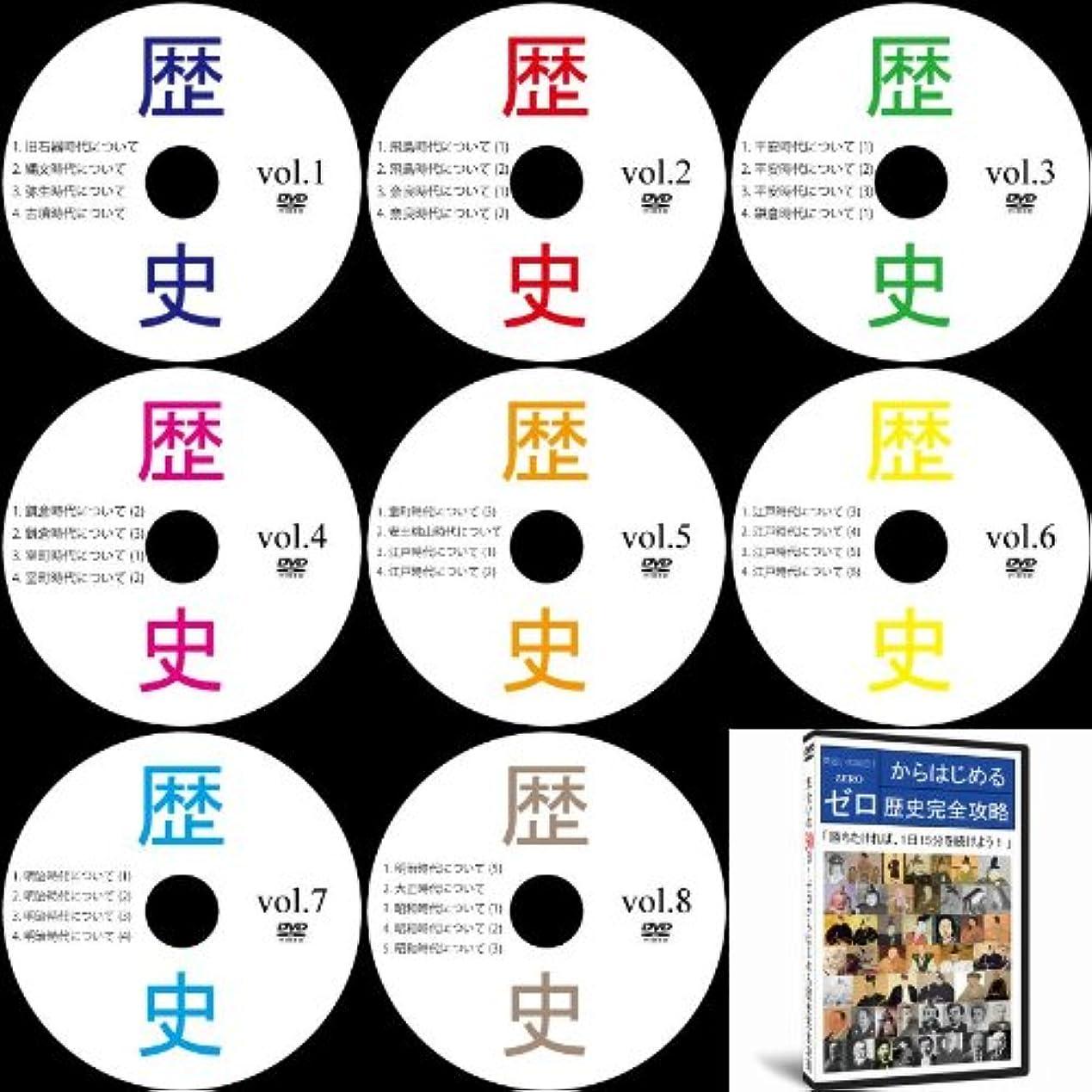 抗議別の大佐中学受験社会歴史DVD全8巻