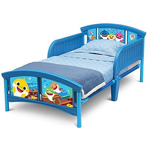 Delta Children Plastic Toddler Bed, Baby Shark