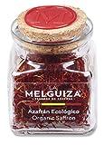 Azafrán Auténtico Español en Hebras Natural Envase Cristal Regalo de Cocina de Especias y Condimentos Gourmet 2 gr