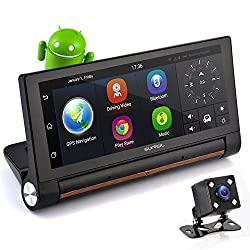 "Pyle GPS Android Touchscreen DVR 7"" Dashcam"