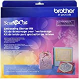 Brother CAEBSKIT1 Embossing Starter Kit, Card Embossing Kit, Scrap Booking Starter Kit, For Use with Brother...