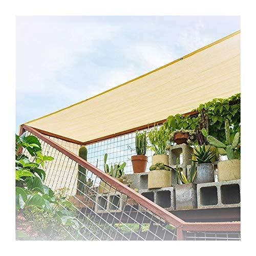 Velas De Sombra Bloqueador Solar Toldo Tela de Parasol 95% Resistente A Los Rayos UV Cubierta De Red de Malla Para El Granero Del Invernadero de La Planta Del Jardín Del Patio Trasero Al Aire Libre AL