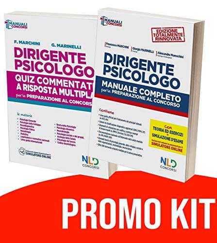 Kit concorso dirigente psicologo 2020: manuale + quiz completo per la preparazione al concorso