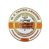 Trabucco Hilos de Pesca XPS Taper Leader Finales Cónicos 15 m 0.18-0.57 mm Surf Cola de Rata Surfcasting Carpfishing