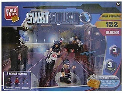 orden en línea Block Tech SWAT Squad - SWAT Command Command Command - 122 Pieces by Block Tech  sin mínimo