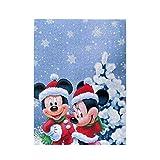 EXking Jigsaw Puzzle Mi-CK-EY Minnie Mouse Christmas Rompecabezas de Madera Juegos para Adultos...
