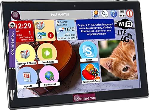 Ordimemo iZitab4 10 MAX- WiFi - Android 10 - Equipo Lenovo - Servicio MAX Incluido