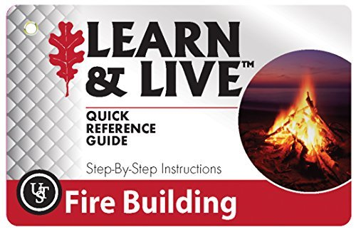 UST Fire Building Cards by Ultimate Survival Technologies