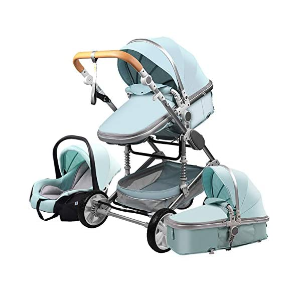 DACHANGTUI Baby Stroller 3 in 1 newborn baby stroller High Landscape Stroller DACHANGTUI Is Foldable:Yes Load Bearing:70 Kg Item name:3 in 1 baby stroller 1
