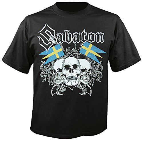 Sabaton - Swedish Pagans - Black - T-Shirt Größe L