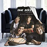 FOWHY 1D-One Direction Blanket Micro Fleece Throw Blanket Soft Cozy Blankets for Bed Couch Living Room 40 X 50 Inch