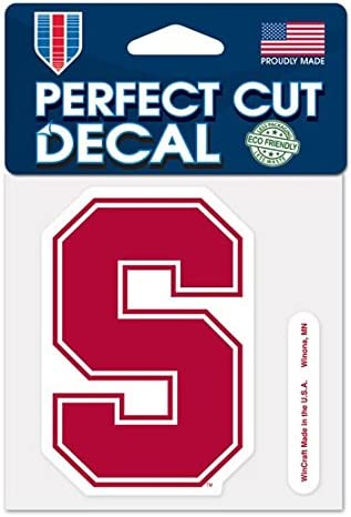 WinCraft NCAA Trust Perfect Ranking TOP10 Decal Cut Color