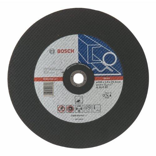 Bosch 2608600543 Expert for Metal - Disco de corte recto, A 36 R BF, diámetro de 355 mm, diámetro del orificio de 25.40 mm, grosor de 2.8 mm, 1 unidad