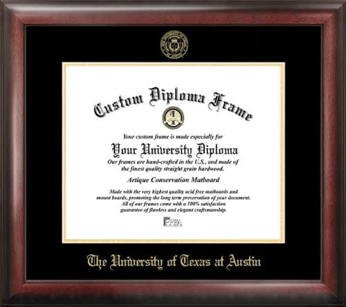 Campus Images University of Texas Diploma Gold Embossed Austin Max 52% Max 79% OFF OFF