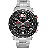 Citizen Eco-Drive Weekender Chronograph Stainless Steel Mens Watch