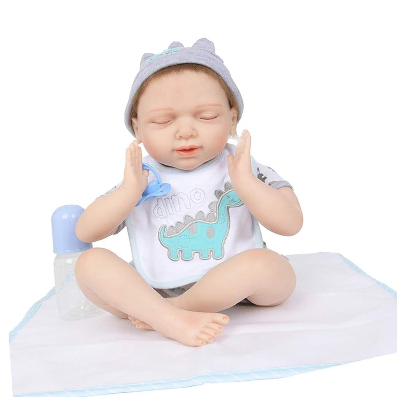 封建適格容器D DOLITY 20インチ ソフト シリコーン リボーンドール スリーピング 新生児 衣装付き 人形 誕生日 ギフト