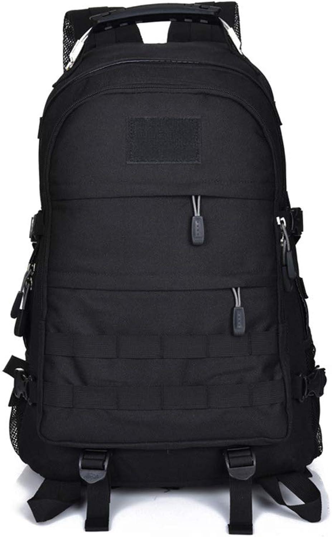NAN® Outdoor-Reisetasche 2019 Neue große Kapazität Tactical Bag Camouflage Mountaineering Wasserdichter Multifunktionsrucksack,schwarz B07Q347PTM  Qualitätsprodukte