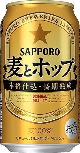 【クリアランス/新ジャンル】サッポロ 麦とホップ 350ml×24本 []