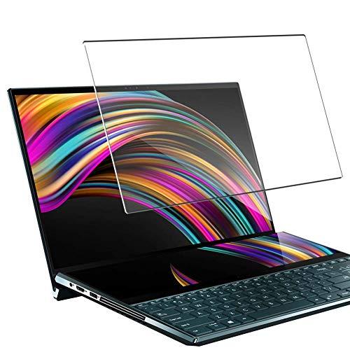 """Vaxson Vetro Temperato Pellicola Protettiva, compatibile con ASUS ZenBook Pro Duo UX581LV 15.6"""" [Coprire Solo l'area Attiva] 9H Screen Protector Film"""