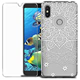 MadBee Redmi S2 Case + Tempered Glass Screen Protector,