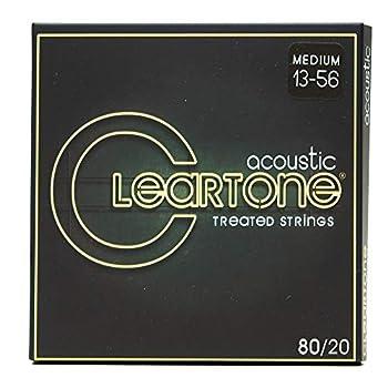 Cleartone 80/20 Guitar Strings Medium .013-.056
