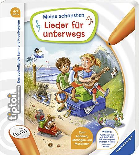 Ravensburger tiptoi Meine schönsten Lieder für unterwegs Lernbuch