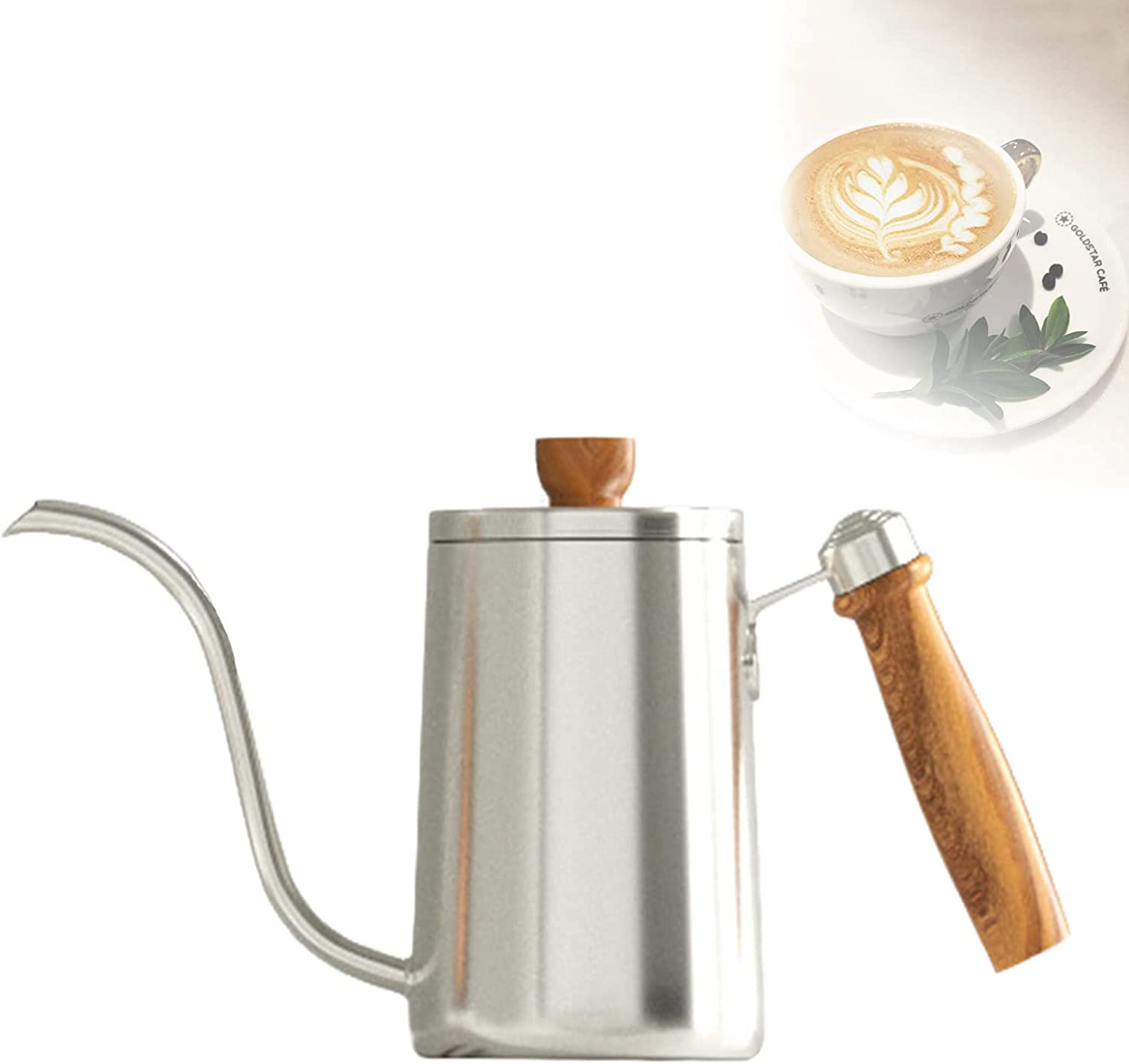 YHWD Hand Drip Coffee Brewer Pot 40% OFF Cheap Los Angeles Mall Sale Stainless Steel Tea Make