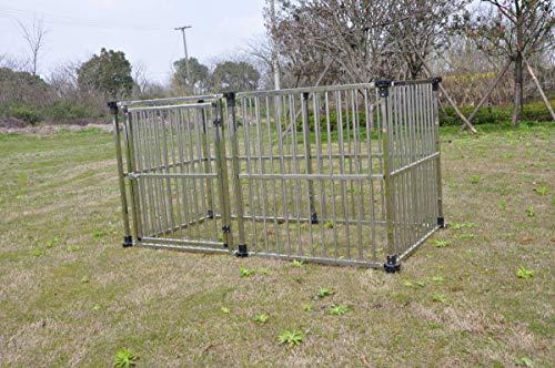 ドッグハウス マルチサークルハウス DFS-C1 屋外用 [犬小屋 大型犬]ステンレス製