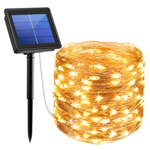 Solar Powered String Lights