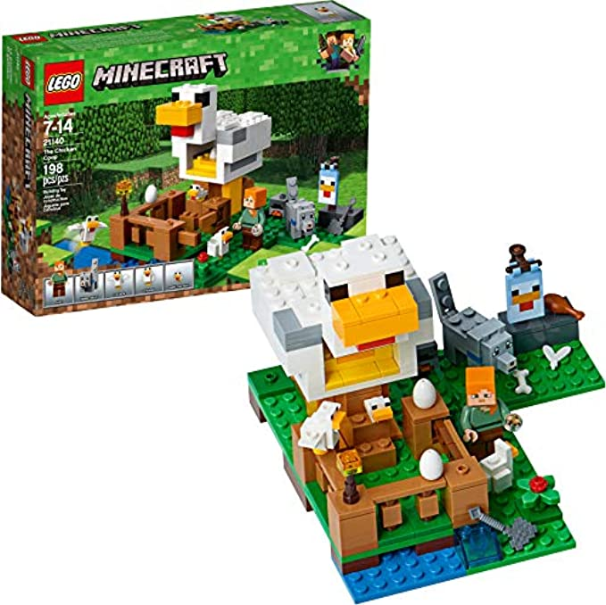 LEGO Minecraft לול תרנגולות 21140