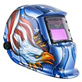 Best Auto-darkening Welding Helmets - DEKO Solar Powered Welding Helmet Auto Darkening Hood Review