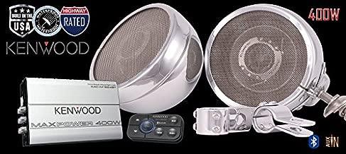 ST400 Kenwood Cruiser Motorcycle Speaker Stereo Radio System by Steel Horse Audio