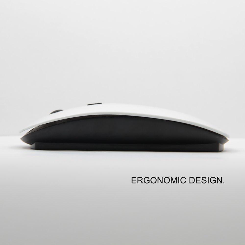 KawaiiMouse [ Optical 2.4G Wireless Mouse ] Owl Purple Smart Design Minimalist Modern