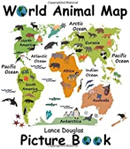 Animals of the World Picture Book and Map