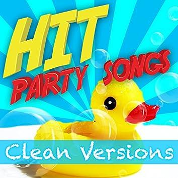 Hit Party Songs - Clean Versions