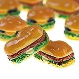 Blue Vessel Puppenhaus Zubehör Mini Burger Form Puppenhaus Spielzeug 1#