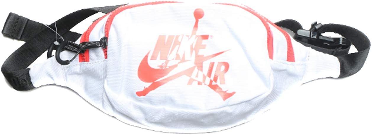 Nike Jordan Jumpman Classic Crossbody Bag (One Size, White/Infared)