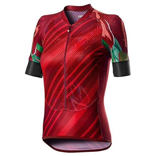 castelli Damen Climber's W Shirt, rot, S