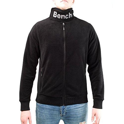 Bench Core Funnel Neck - Herren Fleecejacke - Sweatjacke (S, Schwarz / Black)