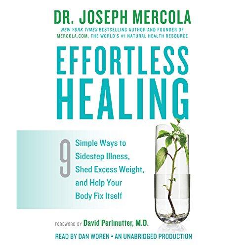 Effortless Healing audiobook cover art