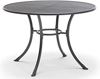 KETTLER Round Mesh Top Table in Gray