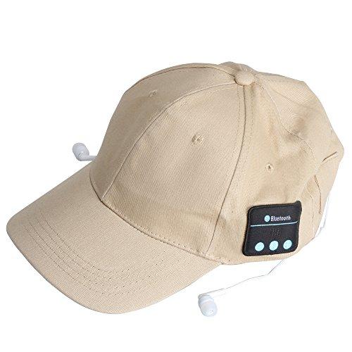 Sidiou Group Intelligente Bluetooth Tropenhelm Musik Hut Gemeinsame drahtlose Bluetooth Kopfhörer-Hut für Handy Baseballcap