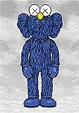 Kfbtbh Gran Oferta, Pintura en Lienzo de muñeca de Dibujos Animados de Arte Moderno, póster de Juguete de Oso clásico e impresión de Imagen HD para decoración de Pared de habitación de niños 40x60cm