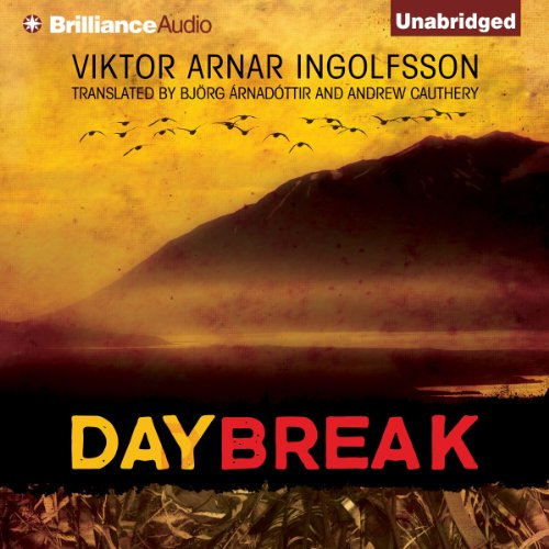 Daybreak                   By:                                                                                                                                 Viktor Arnar Ingolfsson                               Narrated by:                                                                                                                                 Benjamin L. Darcie                      Length: 8 hrs and 18 mins     111 ratings     Overall 3.8