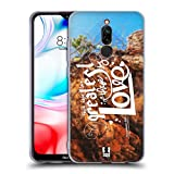 Head Case Designs Liebe Christliche Typografie Serie 3 Soft Gel Huelle kompatibel mit Xiaomi Redmi 8