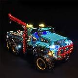 XIKI Kit di Illuminazione a LED Progettato per Lego Technic Camion Autogrù 42070, Modello Lego Non Incluso