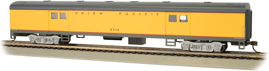Gorgeous Bachmann Popular products Trains - 72' Smooth-Side #5 Pacific Union Baggage Car