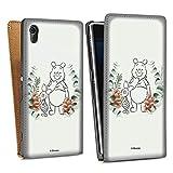 Étui Compatible avec Sony Xperia Z1 Étui à Rabat Étui magnétique Disney Winnie l'ourson...