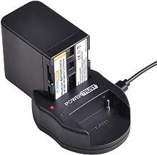 PowerTrust 1Pack NP-QM91D QM91D Battery and USB Dual Charger for Sony NPQM91D NP-FM50 NP-QM71 NP-FM70 NP-FM90 CCD-TRV328 338 DCR-DVD300 301 DCR-HC14 DCR-PC105 330E DCR-TRV70 80 250 260