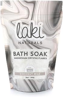 Laki Naturals, Magnesium Flake Soak Coconut Milk, 16 Ounce